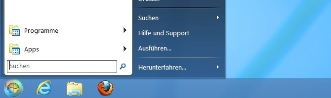 Windows 8 Startmenü aktivieren